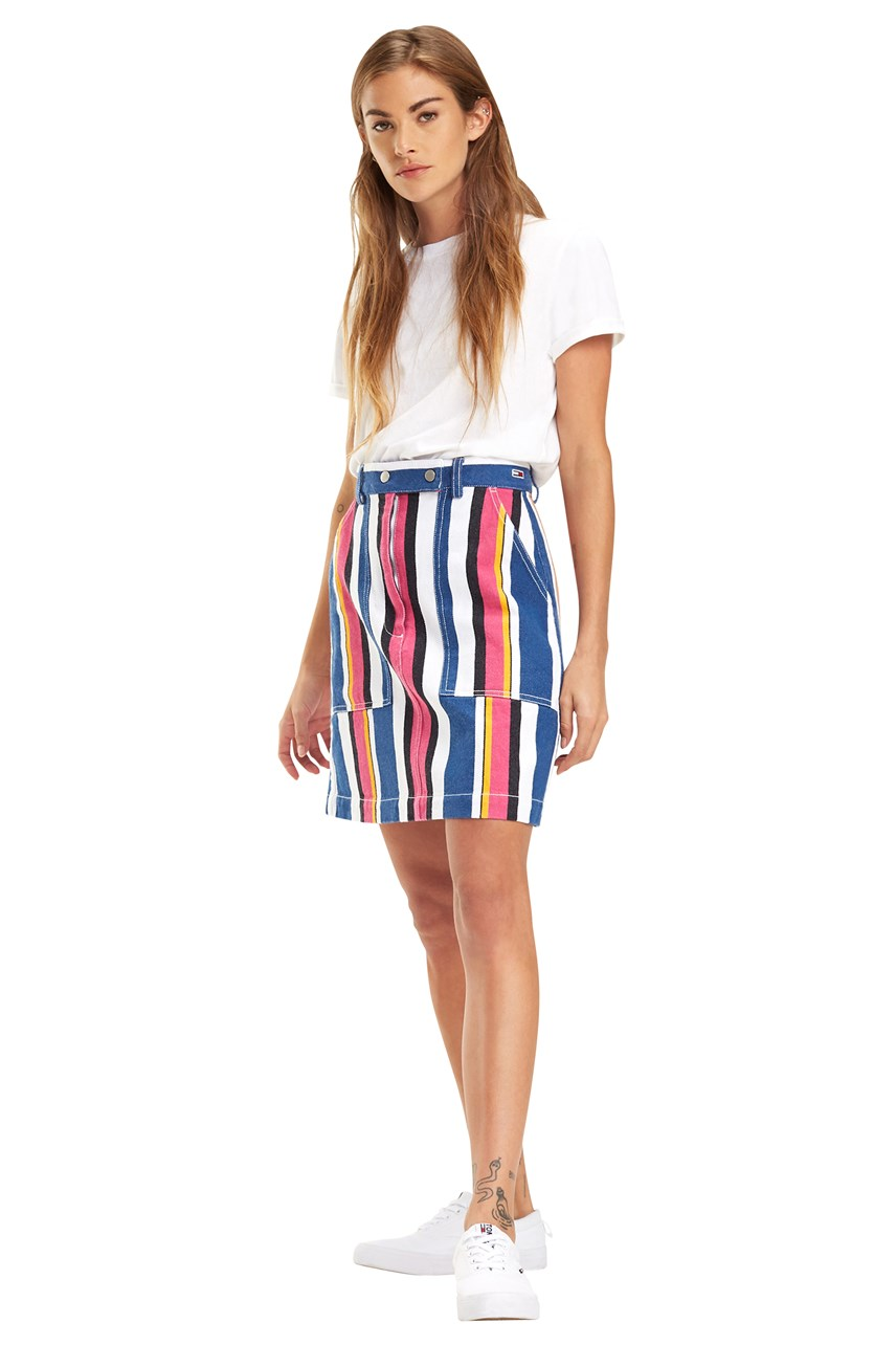 Stripe Carpenter Skirt